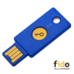 Llave de seguridad Security Key de Yubico